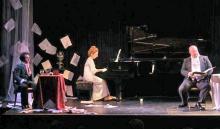 Stage shot by Jacqueline Chambord.