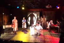 "Teching the tenth Barrington Stage world premiere musical from the Musical Theatre Lab - ""The Golem of Havana"" - tickets are going fast! — the show features Gabriel Kadian, Julie Nicole, Ronald Peet, Felipe Gorostiza, Danny Bolero, Ari Stachel and Jacqueline Antaramian."