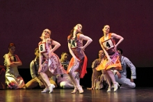 The Paul Taylor Dance Company in Marathon Cadenzas. Photo by Paul B. Goode.