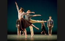 Laurel Lynch & Willam Smith lll of Mark Morris Dance Group; photo Stephanie Berger.