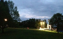 Enrico Spada snapped this as load-in and tech was happening.