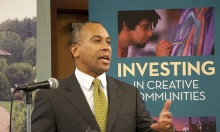 Massachusetts Governor Duval Patrick will make $14 million Cultural Facilities Fund announcement Monday at Barrington Stage Co.