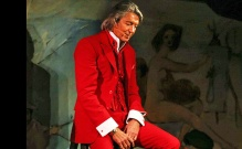 A wonderful, pensive moment with Tommy Tune, captured by photographer Stephen Sorokoff.