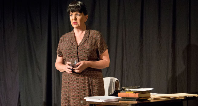 Margot Avery in the Portable Dorothy Parker.