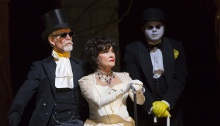 Tom Nelis, Chita Rivera, Chris Newcomer. Photo by T. Charles Erickson.