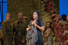 "Anita Rachvelishvili in the title role of Bizet's ""Carmen."" Photo: Ken Howard Metropolitan Opera"