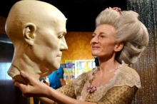Visit one of the 20 Madame Tussaud's waxworks and you will likely meet the artist herself, forever frozen in time.
