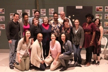 "The cast of ""In Darfur"" which begins previews this week and opens Saturday."