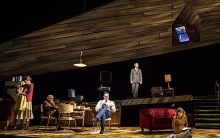 "The three generation hit ""Smokefall"" is just winding up its run at Chicago's Goodman Theatre."