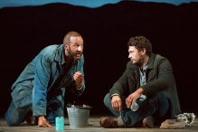 With James Franco and Chris O'Dowd in the key roles, audiences have rediscovered  John Steinbeck's hard scrabble play Of Mice and Men. A Berkshire on Stage Top Pick.