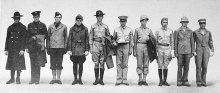 Veterans wore many uniforms but are all honored this year on stage at Oldcastle Theater Company and on Veteran's Day, Tuesday, November 11.