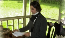 Rob Velella as Nathaniel Hawthorne.