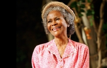 Cicely Tyson in The Trip to Bountiful, live on stage in Boston.
