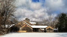 The serenity of Jacob's Pillow in winter belies the intense activity now underway to plan the 2015 season.