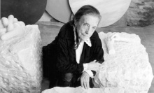 Louise Bourgeois. She lived to be 98.