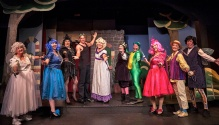 "The Pantoloons take a bow in last year's panto ""SleepFrog"" at The Ghent Playhouse. Photo by Daniel Region."
