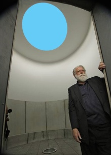 James Turrell shares his view of the world with all who enter his Skyspaces.