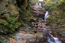 The Cascade in North Adams in hidden away, but worth searching for.