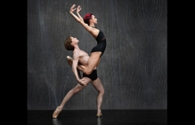 Céline Cassone & Daniil Simkin; photo Ken Browar & Deborah Ory of NYC Dance Project.