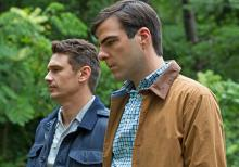 "Gus Van Sant turned James Franco (l) on to ""I am Michael"" in which he stars opposite Zachary Quinto."
