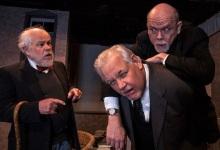 "John Trainor, George Filieau and William Sanderson in ""Heroes""  photo: Daniel Region."