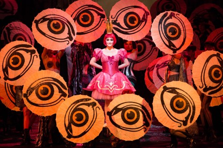 """Erin Morley as Olympia in Offenbach's """"Les Contes d'Hoffmann."""" Photo: Marty Sohl, Metropolitan Opera"""