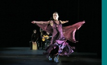 Friday at the Mahaiwe: Noche Flamenca's Antigona .Photo by Chris Bennion.