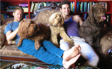 """""""Such Good People"""" is screwball comedy about a couple (Michael Urie & Randy Harrison) who discover a secret room filled with cash while house-sitting for celebrity philanthropists (Scott Wolf & Kate Reinders) who die under mysterious circumstances overseas. This sets off a cat and mouse game for a million dollars in cash, which might belong to the homeowners' friends (Carrie Wiita & James Urbaniak) -- or the orphans of Bhutan."""