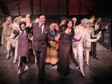 The Addams Family musical  had the audience singing and snapping their fingers last summer.