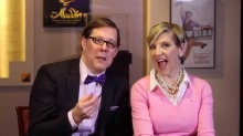 John Bolton and Lisa Lampanelli play the Disney producers in this fun satire.