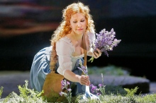"Joyce DiDonato as Elena in Rossini's ""La Donna del Lago."" Photo: Ken Howard/ Metropolitan Opera"