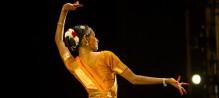 Shantala Shivalingapa in performance. Photo by Christopher.Duggan.