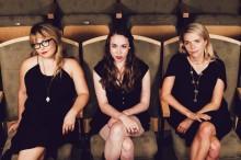 I'm With Her features Sara Watkins, Sarah Jarosz and Aoife O'Donovan