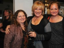 Founding Festival Director Jennifer Browdy with actress and Festival support Jayne Atkinson and Berkshire Magazine Editor Anastasia Stanmeyer. Photo by Peggy Reeves.