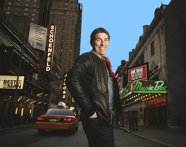 James Lecesne brought his show from Manhattan to Helsinki Hudson this past weekend.