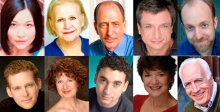 Cast in alphabetical order: Jordan Clark, Mary Klug*, Will LeBow*, Will McGarrahan*, Bob Mussett, Terrence O'Malley, Paula Plum*, Alejandro Simoes, Kathy St. George*, Richard Snee* (*Member of Actors' Equity Association)