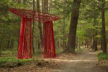 """Big Red"" by Murray Dewart. Photo by Paul Rocheleau"
