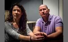 Tamara Gardner & Jonathan Slocum in The Rabbit Hole. Photo by Dan Region