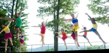 Daniel Gwirtzman Dance on the Inside/Out stage at Jacob's Pillow.