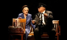 Angela Lansbury and James Earl Jones in Driving Miss Daisy, coming to PBS.