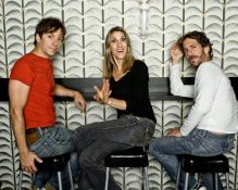 """The comedy trio Unitard (David Ilku, Mike Albo and Nora Burns) now appearing """"House of Tards"""" Photo by Tom Ackerman"""
