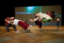Big Dance Theater in Alan Smithee Directed This Play: Triple Feature. Photo by Mike Van Sleen.