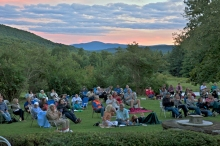 Chesterfest at sunset. Photo by Paul Rocheleau.