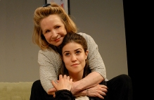 Chester Theatre Company's Memory House with Debra Jo Rupp and Caitlyn Griffin.