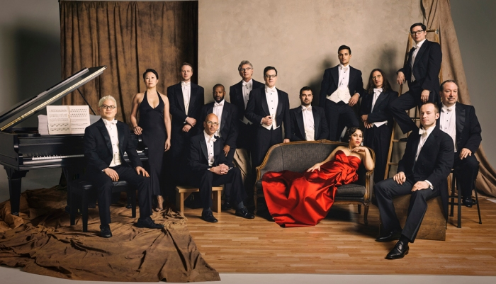 Pink Martini has a nostalgic big band sound, but with a fresh and lively viewpoint.
