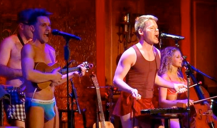 Randy Harrison will appear with The Skivvies in Williamstown, MA.
