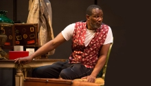 John Douglas Thompson plays Ira Aldridge, the first black man to play Othello on the legitimate stage.
