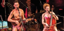 The Skivvies are the musical comedy duo specializing in unexpected arrangements, incongruous mashups, and guest singers who are willing to strip down for their art.