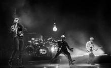 U2 in performance. (c) Sam Jones/HBO