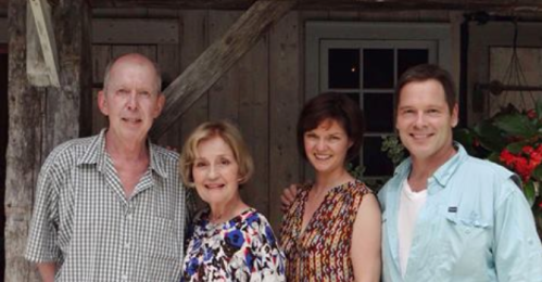 Seen here are Jonathan Hogan, Jennifer Harmon, Mary Bacon, and Michael Hayden.